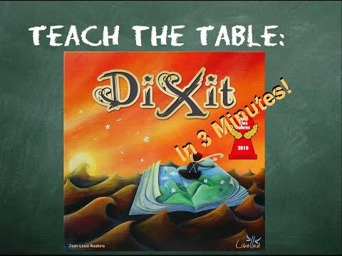 How to play Dixit in 3 minutes