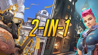 END OF SEASON RANKED ft. REDSHELL - Overwatch