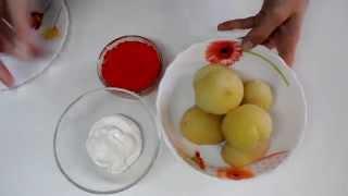 Закуска с красной икрой/Appetizer with red caviar