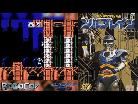 Tokkyuu Shirei Solbrain (Robocop 4) (Денди) - прохождение игры
