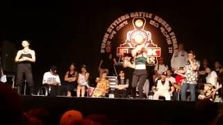 2014 Funk stylers battle waacking 8강 -2 round 2Da Waack Ye-G vs Peanut