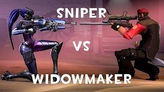 Sniper VS Widowmaker [HALLOWEEN SPECIAL]