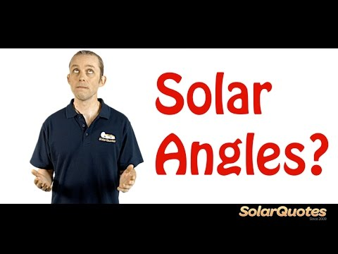 Is your roof angle suitable for solar panels?