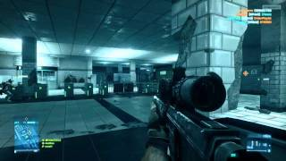 Gameplay Battlefield 3 PC - Clase Francotirador Español  HD