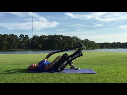 Golf Stretching Exercise Series | Lesson 3 | Hamstring Stretch