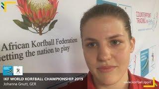 Interviews: Johanna Gnutt, GER #WKC2019