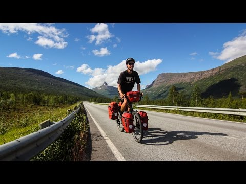 Solo Cycling in Scandinavia - Norway & Sweden Bicycle Tourin