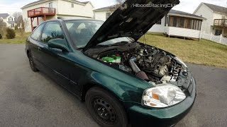 Car Vlog Pt.4 | Picking Ivy Up From HCP, Parts Update, B20B Swap, GSR Trans, Billet Mounts & More