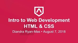 Lesson II - HTML & CSS - Section 6 - Intro to Web Dev