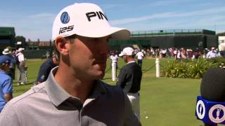 Billy Horschel tells Cara Robinson what is in his bag for the 143rd Open at Royal Liverpool (2014)