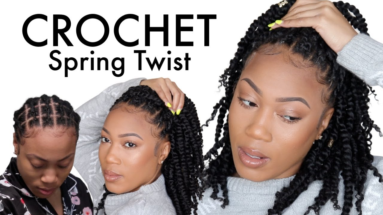New Crochet Passion Spring Twist Versatile Braid Pattern Youtube