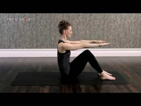 Half Roll Back Exercise Pilates