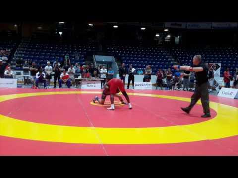 2016 Canada Cup: 61 kg Yowlys Bonne Rodriguez (CUB) vs. Cruz Velasquez (USA)