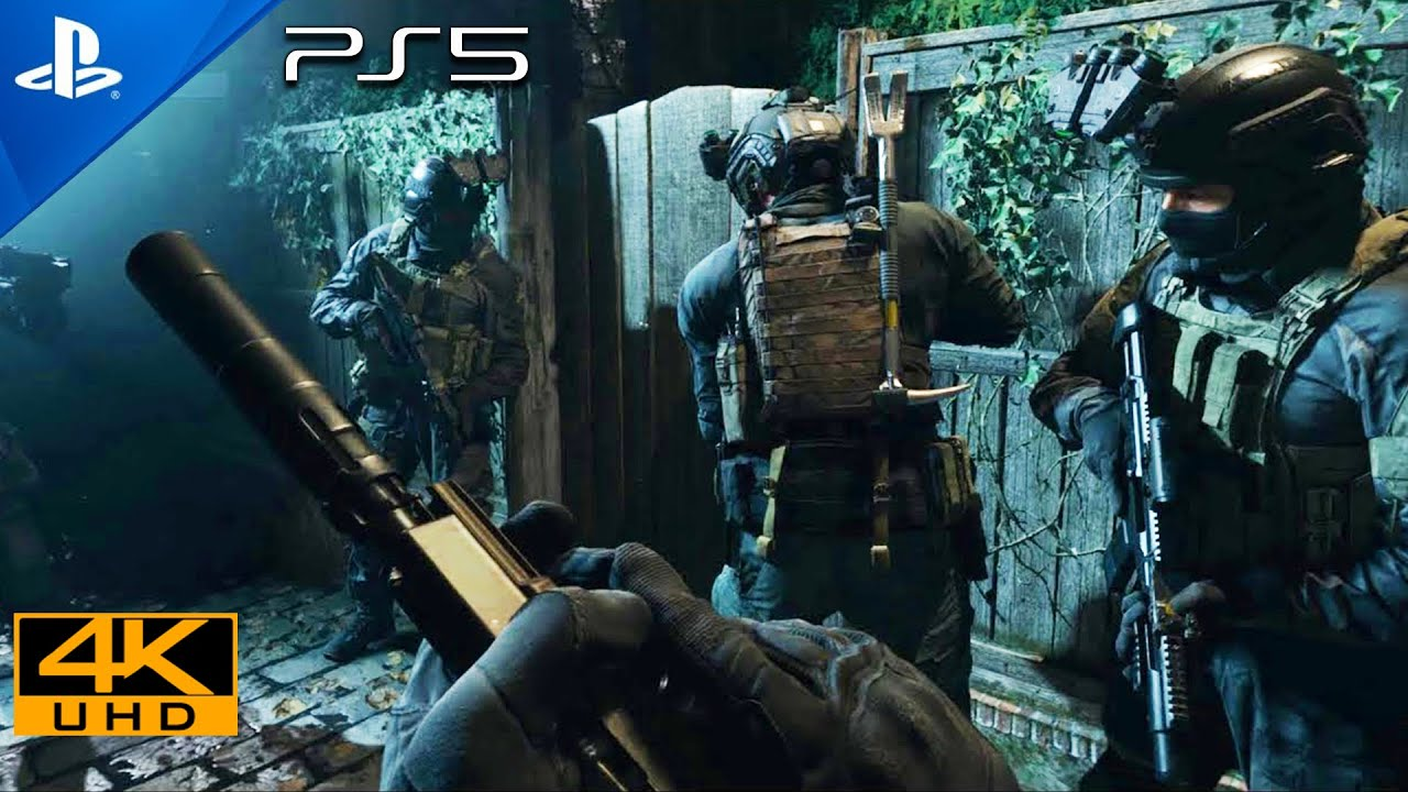 Clean House [PS5 UHD 4K] Next-Gen Ultra Realistic Graphics PlayStation 5 Call of Duty Gameplay