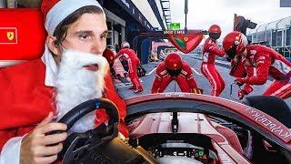Der neue JOB vom WEIHNACHTSMANN ✪ F1 2018 mit LENKRAD