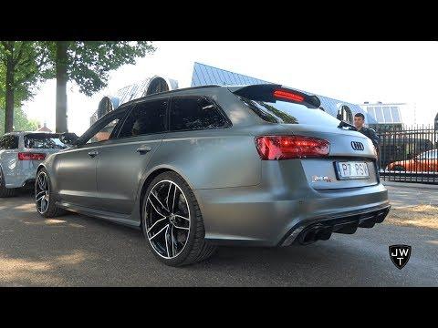 LOUD 700HP Audi RS6-R Avant C7s w/ Akrapovic Exhaust! SOUNDS!