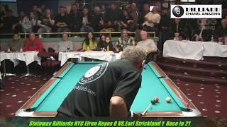 TOP 5 BEST GAME EVER!!! Legend Efren Reyes vs Earl Strickland