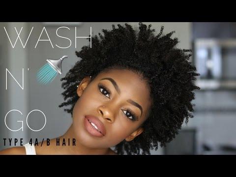 WASH N&39;GO ROUTINE 4AB HAIR Giveaway Closed  Kaice Alea