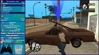 GTA San Andreas Any% Speedrun & GTA III Any% Speedrun - Hugo_One Twitch Stream - 7/16/2018