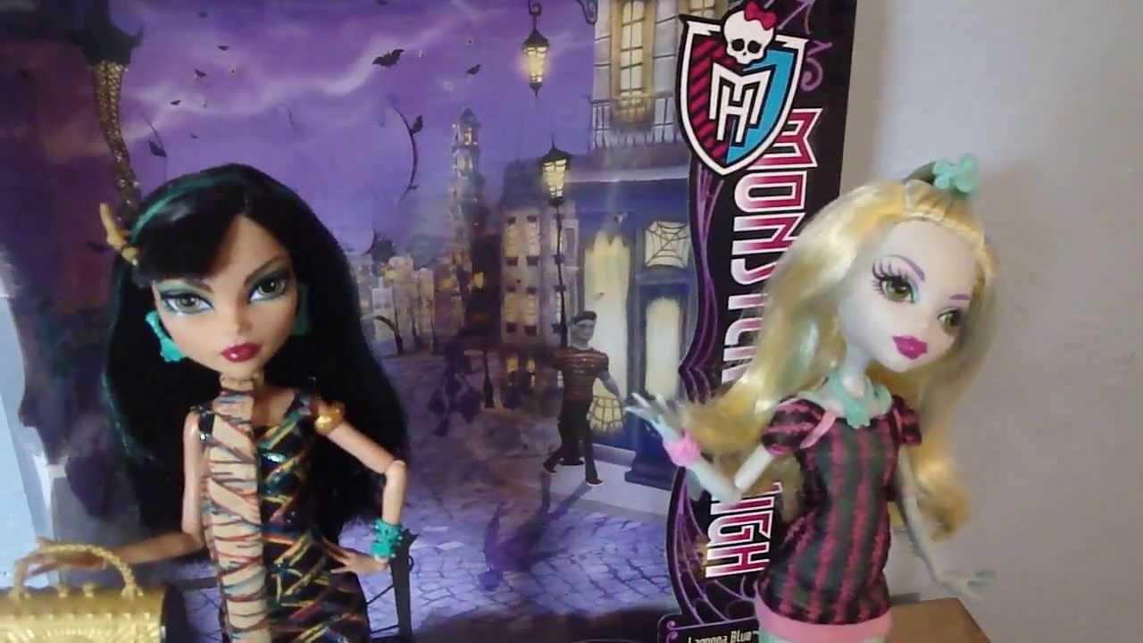 Monster High Cléo De Nile et Lagoona Blue Scaris