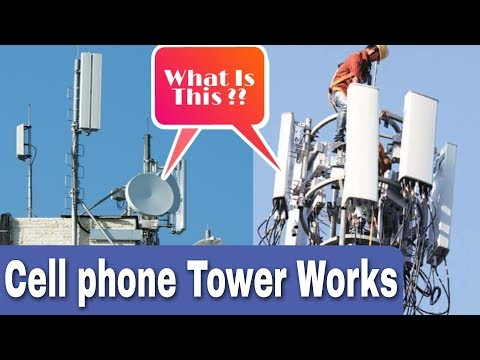 How Cell Phone Tower Works?  Mobile Phone Tower Communication Process?? 📞📲