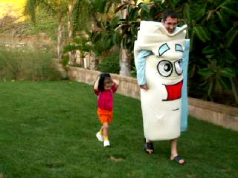 Halloween costumes Dora The Explorer, Boots the monkey, and The ...