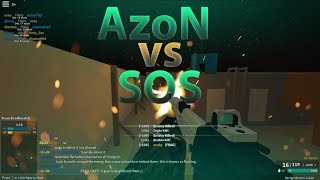 AzoN vs. SOS CPFO | Competitive Phantom Forces ROBLOX