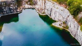 Download Diving the famous quarry Vagnhärad.