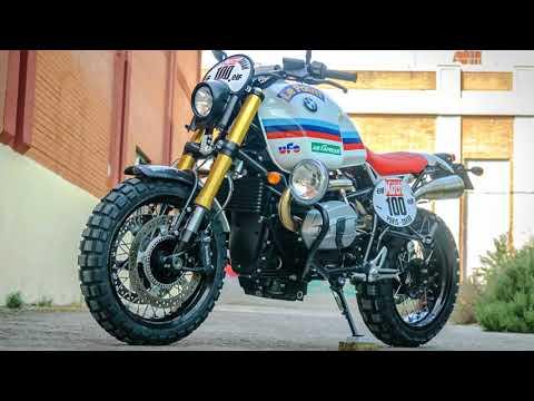 BMW R nineT Paris Dakar Scrambler