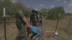 Indocumentados hondureos detenidos en Texas