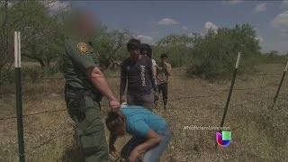Indocumentados hondureños detenidos en Texas