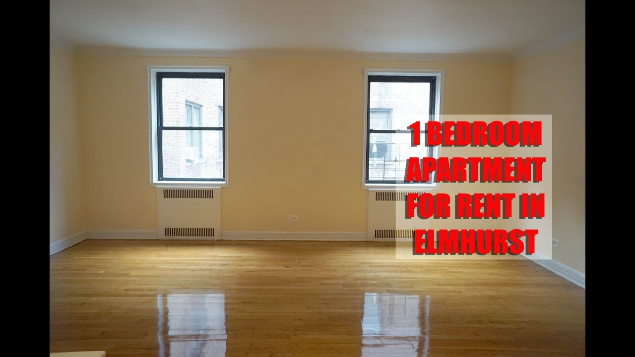 Large 1 Bedroom Apartment For Rent In Elmhurst Queens Nyc Youtube