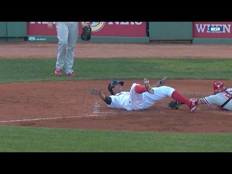 Bogaerts hits a Little League grand slam