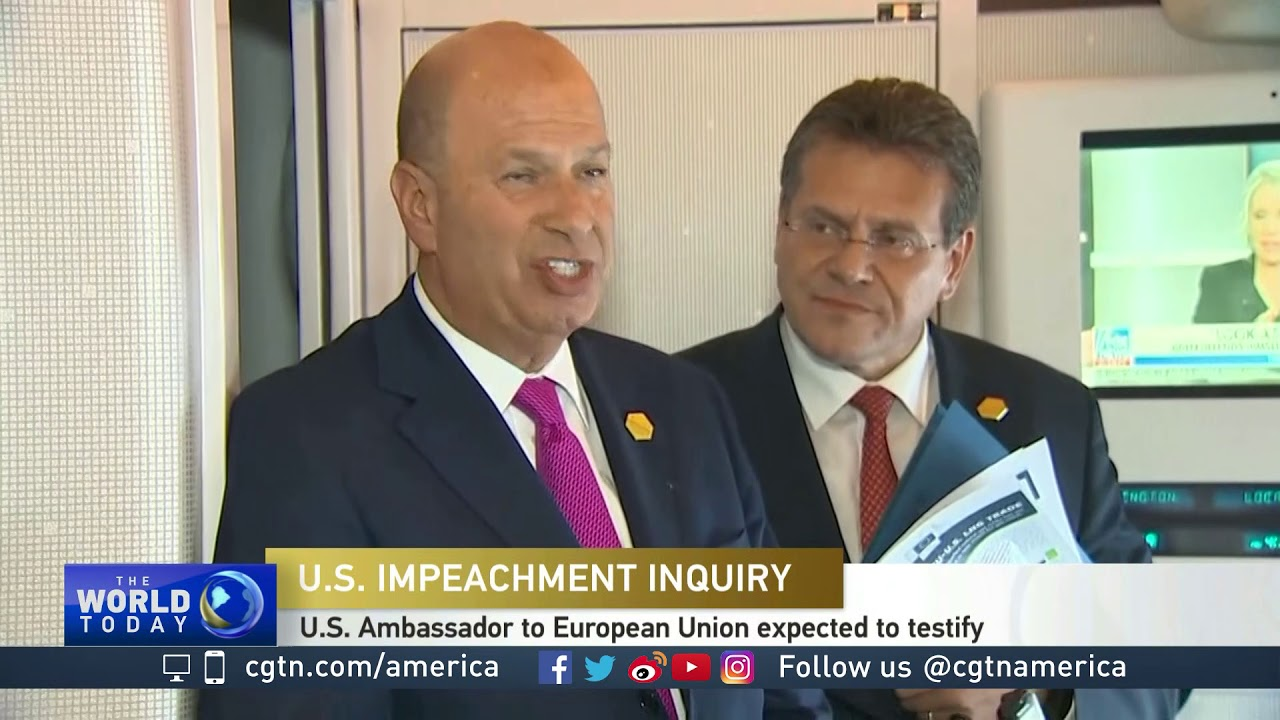 David Charter on the impeachment inquiry of U.S. President Donald Trump