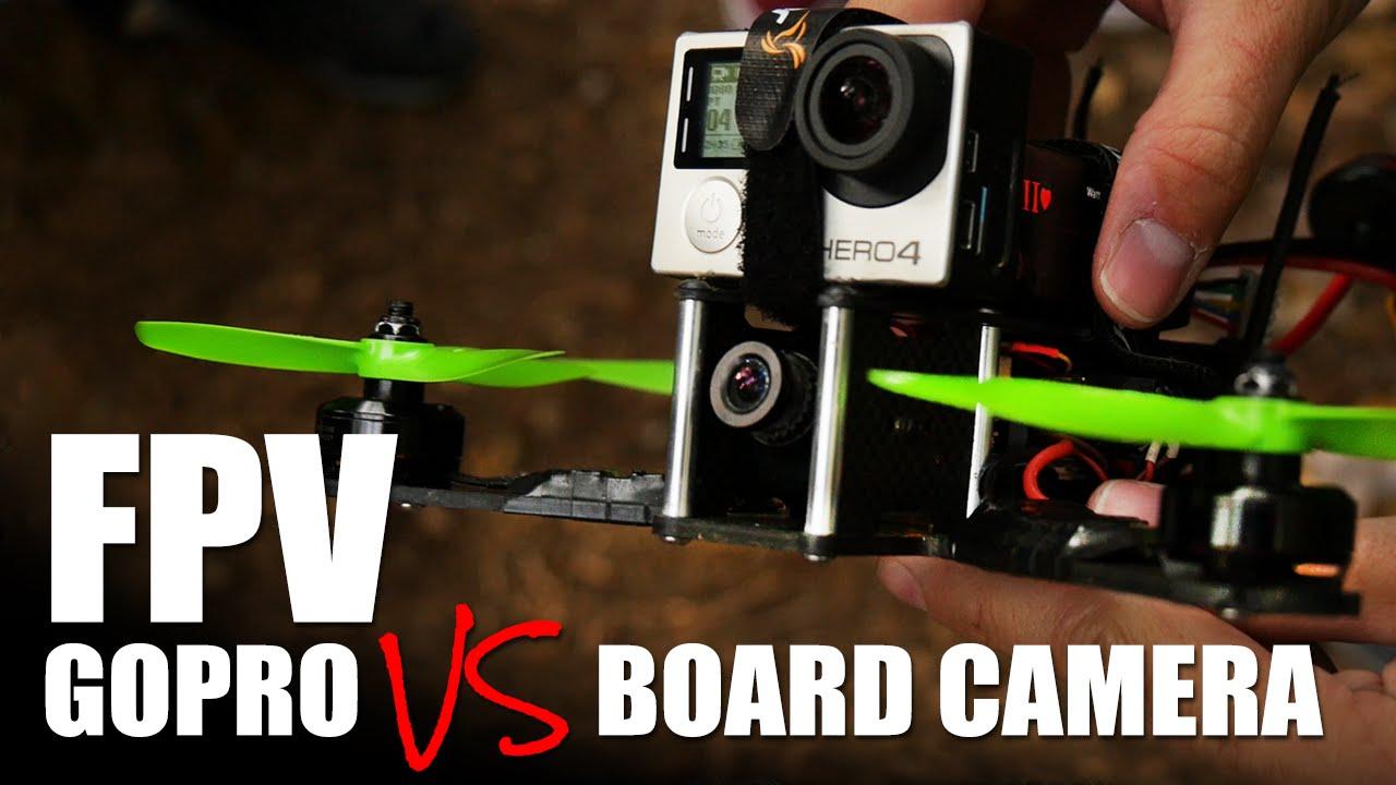 FPV GoPro vs Board Camera | Flite Test