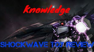 Transformers Prime Shockwave Toy Review