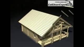 Технология строительства дома из бруса(Строим дома из бруса. Заказывать проектирование или услуги строительства можно по телефону +7(923)222-25-25 или..., 2014-10-18T05:57:19.000Z)