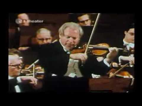 Isaac Stern plays Mendelssohn: Violin Concerto- Allegro (clip)