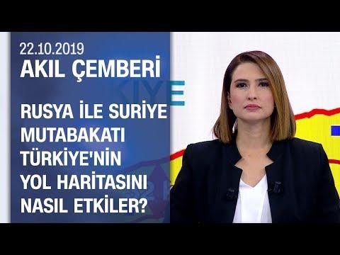 Uzmanlar, Türkiye ve Rusya'nın Suriye mutabakatını yorumladı - Akıl Çemberi 22.10.2019 Salı