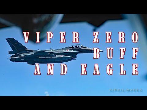 Viper Zero, Buff, and Eagle - F-2, B-52, and F-15