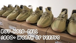 Buy-Hold-Sell $800+ Worth of Yeezy Sulfers
