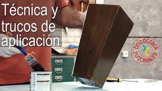 Cómo utilizar la pintura efecto madera (Bricocrack)