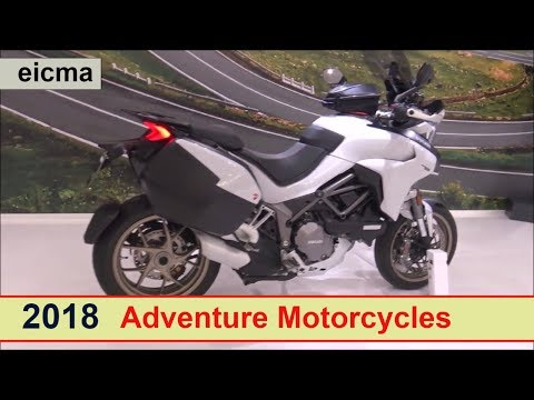All the Adventure Motorcycles for 2018 (long video)