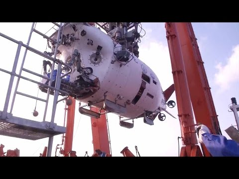 China's Jiaolong submersible returns from research in NW Indian Ocean