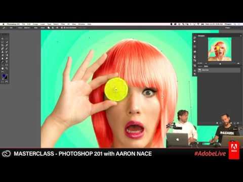 Live Masterclass with Aaron Nace - Photoshop 201 2/3