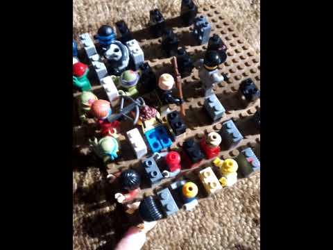 Лего самоделка на тему зомби апокалипсис кладбище