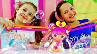 Игры для девочек: мыльное Шоу для Лалалупси!