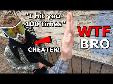 AIRSOFT CHEATER Hit me 100 Times!? FUNNY MOMENTS and FAILS! DSG M4 Gameplay!