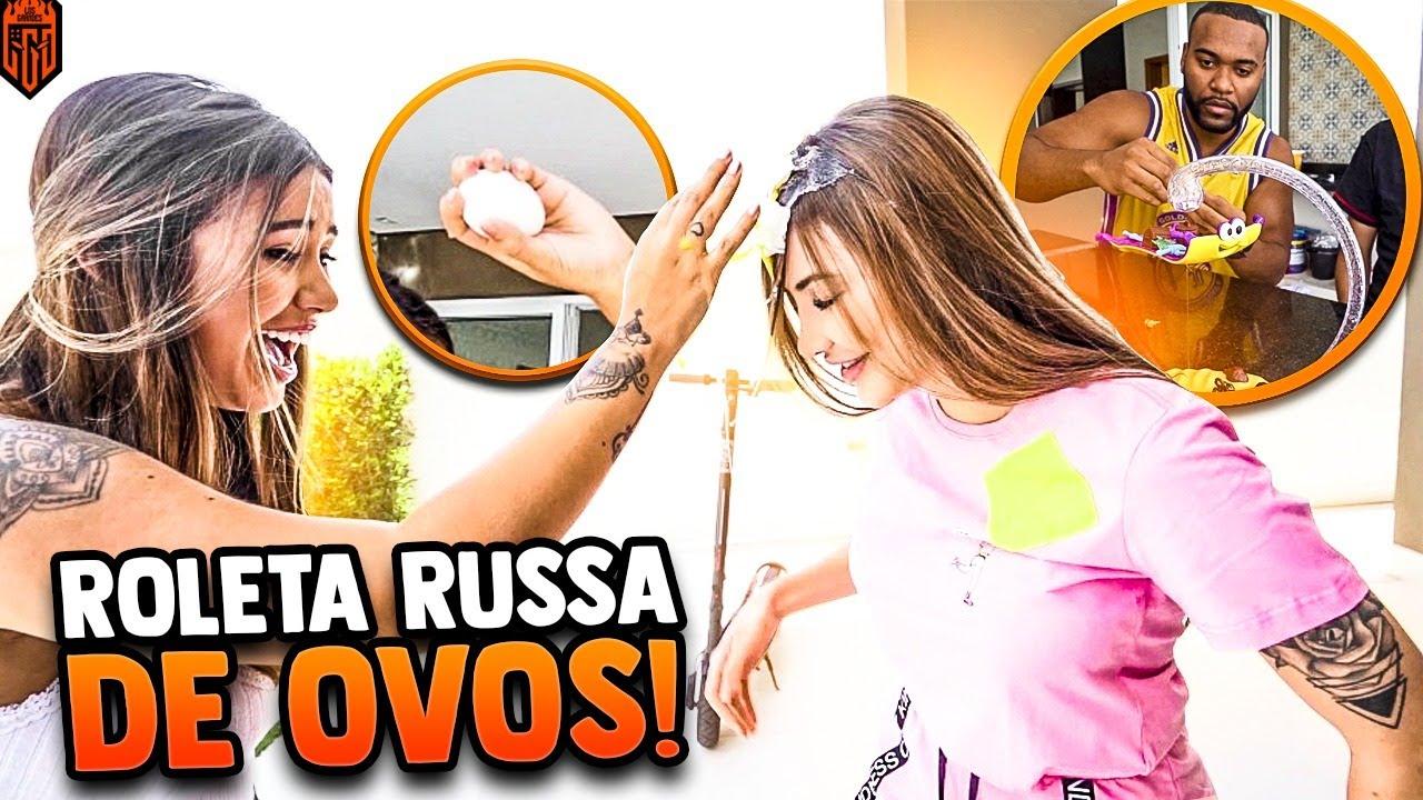 ROLETA RUSSA DE OVOS!! QUEM SE DEU MAL?? LOS GRANDES FREE FIRE