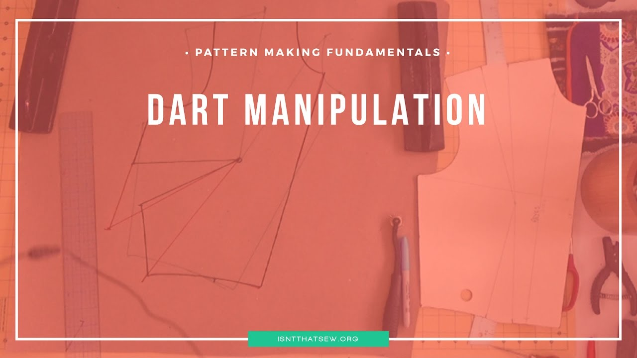 Simple dart manipulation through pivot points and slash and spread/close